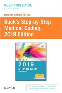Buck's 2019 Step-By-Step Medical Coding Medical Coding Online Access Code
