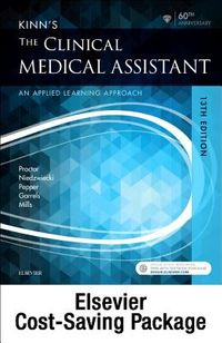 Kinn's the Clinical Medical Assistant + Study Guide + Scmo