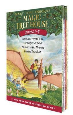 Magic Tree House, Books 1-4