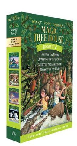 Magic Tree House Books 5-8
