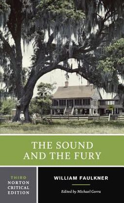 by Faulkner The Sound And The Fury William Paperback Book The Picador Books