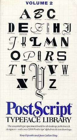 Postscript Typeface Library : Sans Serif Design, Outline & Ornaments