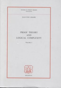 Proof Theory and Logical Complexity