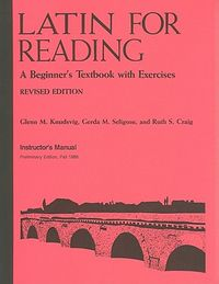 Latin for Reading