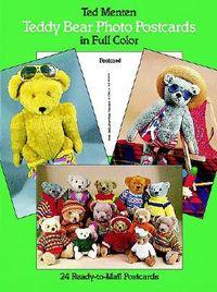 Teddy Bear Photo Postcards in Full Color
