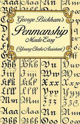 George Bickham's Penmanship Made Easy