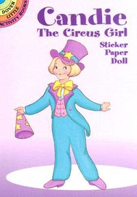 Candie the Circus Girl Sticker Paper Doll