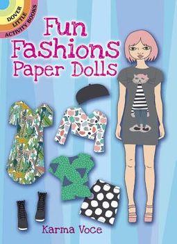 Fun Fashions Paper Dolls