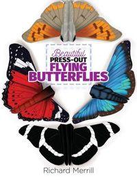 Beautiful Press-Out Flying Butterflies