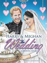 Harry & Meghan the Wedding Coloring Book