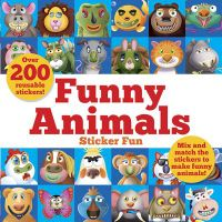 Funny Animals Sticker Fun