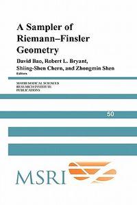 A Sampler of Riemann-finsler Geometry