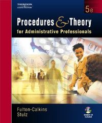 Procedures and Theory for the Administrative Professional
