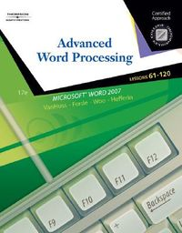 Advanced Word Processing, Lessons 61-120