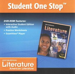Holt McDougal Literature Student One Stop DVD Grade 11 by Holt Mcdougal  (COR)