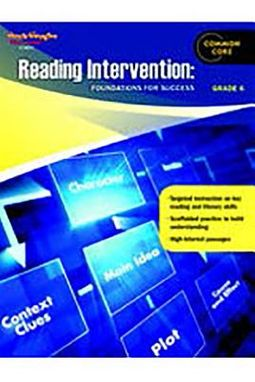 Reading Intervention: Foundations for Success Grade 6