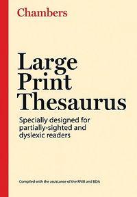 Large Print Thesaurus