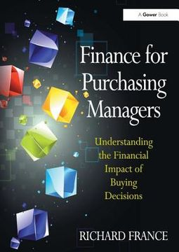 Finance for Purchasing Managers