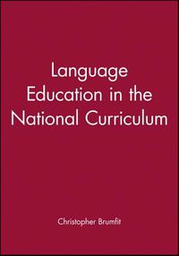 Language Education in the National Curriculum