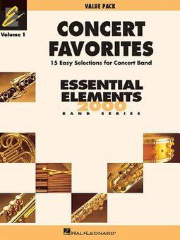 Concert Favorites - Value Pack