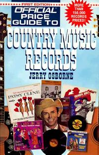 The Official Price Guide to Country Music Records