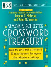 Simon & Schuster Crossword Treasury 38