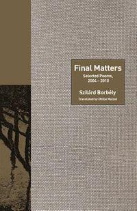 Final Matters