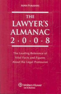 The Lawyer's Almanac 2008