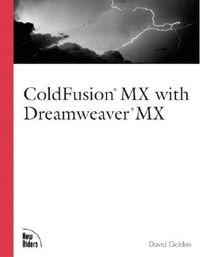 Coldfusion Mx With Dreamweaver Mx