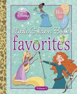 Disney Princess Little Golden Book Favorites