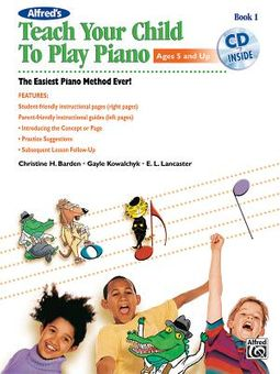 Alfred's Teach Your Child to Play Piano
