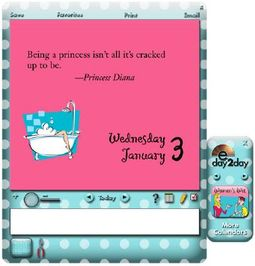 Women's Wit 2007 Electronic Daily Calendar