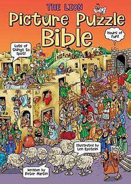 The Lion Picture Puzzle Bible