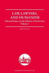 Law, Lawyers and Humanism