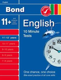 Bond 10 Minute Tests English, 11-12+ Years