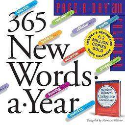 365 New Words a Year 2010 Calendar