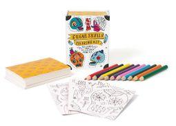 Sugar Skulls Coloring Kit