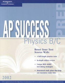 Peterson's Ap Success Physics B/C 2002