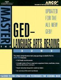 Arco Master the Ged Language Arts, Reading 2002