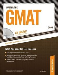 Peterson's Master the GMAT 2009