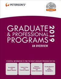 Peterson's Graduate & Professional Programs 2019