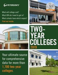Peterson's Two-Year Colleges 2019