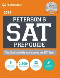 Peterson's SAT Prep Guide, 2019