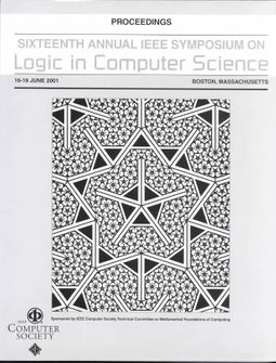 Logic in Computer Science 2001