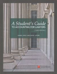 A Student's Guide to Accounting for Lawyers