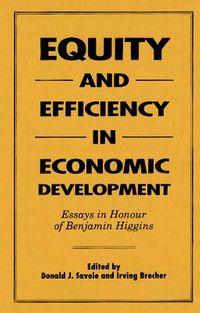 Equity and Efficiency in Economic Development