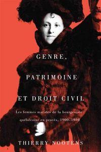 Genre, Patrimoine Et Droit Civil