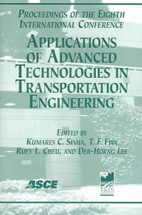 Applications Of Advanced Technologies In Transportation Engineering