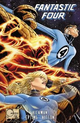 Fantastic Four by Jonathan Hickman 5