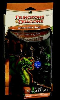 Dungeons & Dragons Miniatures Game by Wizards Miniatures Team (CRT)